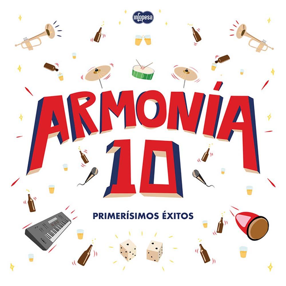 Armonia 10 – Primerísimos Éxitos (FLAC) (Mp3)